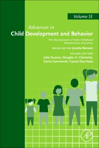 Cover image for The Development of Early Childhood Mathematics Education
