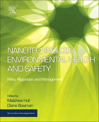 Cover image for Nanotechnology Environmental Health and Safety