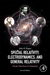 Cover image for Special Relativity, Electrodynamics, and General Relativity