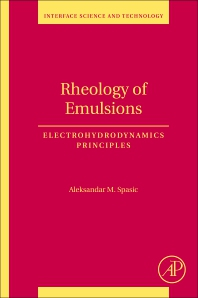 Cover image for Rheology of Emulsions