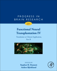 Functional Neural Transplantation IV - 1st Edition - ISBN: 9780128138793, 9780128138809
