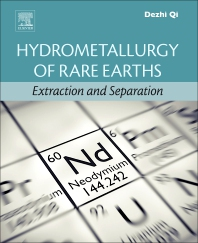 Cover image for Hydrometallurgy of Rare Earths