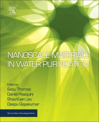 Cover image for Nanoscale Materials in Water Purification