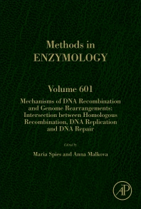 Mechanisms of DNA Recombination and Genome Rearrangements: Intersection Between Homologous Recombination, DNA Replication and DNA Repair - 1st Edition - ISBN: 9780128139790, 9780128139806