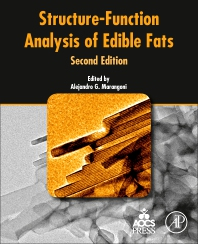 Cover image for Structure-Function Analysis of Edible Fats