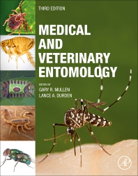 cover of Medical and Veterinary Entomology - 3rd Edition