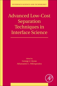Cover image for Advanced Low-Cost Separation Techniques in Interface Science