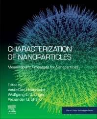 Cover image for Characterization of Nanoparticles