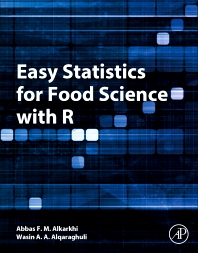 Cover image for Easy Statistics for Food Science with R