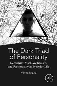 cover of The Dark Triad of Personality - 1st Edition
