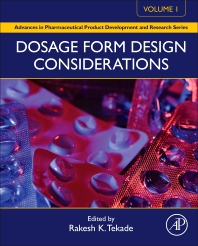 Cover image for Dosage Form Design Considerations