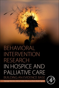Cover image for Behavioral Intervention Research in Hospice and Palliative Care