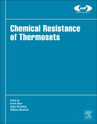 Chemical Resistance of Thermosets - 1st Edition - ISBN: 9780128144800, 9780128144817