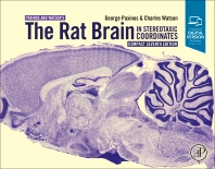 Cover image for The Rat Brain in Stereotaxic Coordinates: Compact