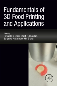 Cover image for Fundamentals of 3D Food Printing and Applications
