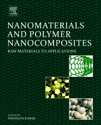 Cover image for Nanomaterials and Polymer Nanocomposites