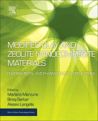 Cover image for Modified Clay and Zeolite Nanocomposite Materials