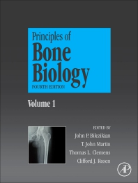 Cover image for Principles of Bone Biology