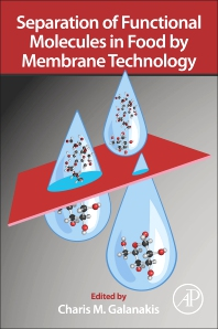 Cover image for Separation of Functional Molecules in Food by Membrane Technology