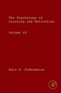Psychology of Learning and Motivation - 1st Edition - ISBN: 9780128150856, 9780128155127