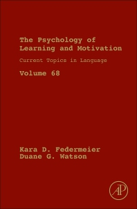 Cover image for Current Topics in Language