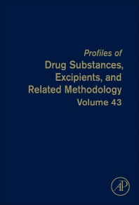 Profiles of Drug Substances, Excipients, and Related Methodology - 1st Edition - ISBN: 9780128151259, 9780128151266