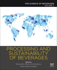 Cover image for Processing and Sustainability of Beverages