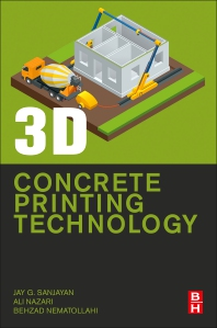 Cover image for 3D Concrete Printing Technology