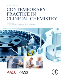 Cover image for Contemporary Practice in Clinical Chemistry