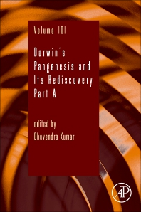 Cover image for Darwin's Pangenesis and Its Rediscovery Part A