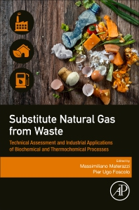 Substitute Natural Gas from Waste - 1st Edition - ISBN: 9780128155547, 9780128156445