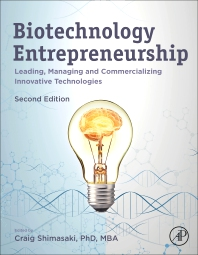 Cover image for Biotechnology Entrepreneurship