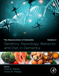 Cover image for Genetics, Neurology, Behavior, and Diet in Dementia