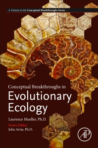 Cover image for Conceptual Breakthroughs in Evolutionary Ecology