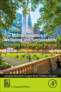 Cover image for The Microeconomics of Wellbeing and Sustainability