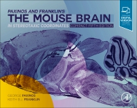 Cover image for Paxinos and Franklin's the Mouse Brain in Stereotaxic Coordinates, Compact