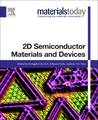 2D Semiconductor Materials and Devices - 1st Edition - ISBN: 9780128161876