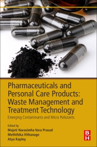Cover image for Pharmaceuticals and Personal Care Products: Waste Management and Treatment Technology