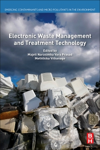 Cover image for Electronic Waste Management and Treatment Technology