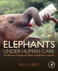 Cover image for Elephants Under Human Care