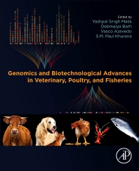 Cover image for Genomics and Biotechnological Advances in Veterinary, Poultry, and Fisheries