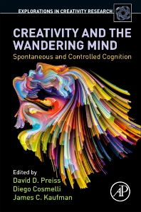 Cover image for Creativity and the Wandering Mind