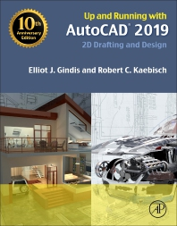 cover of Up and Running with AutoCAD 2019 - 1st Edition