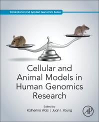 Cover image for Cellular and Animal Models in Human Genomics Research