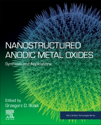 Cover image for Nanostructured Anodic Metal Oxides