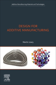 Cover image for Design for Additive Manufacturing
