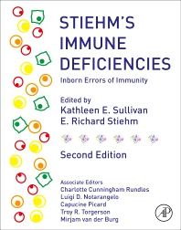 Cover image for Stiehm's Immune Deficiencies