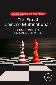 Cover image for The Era of Chinese Multinationals