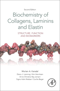 Cover image for Biochemistry of Collagens, Laminins and Elastin