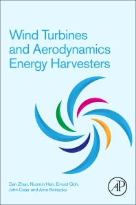 Cover image for Wind Turbines and Aerodynamics Energy Harvesters
